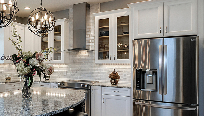 Designers Choice Cabinetry by Erva Stone & Design Fabricates at Fairfax, VA