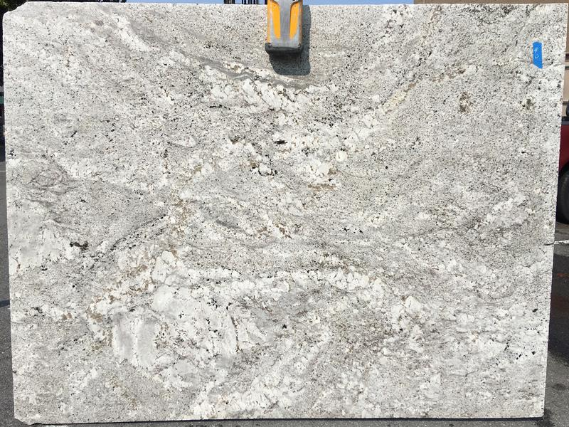 Andino White Granites by Erva Stone & Design Fabricates at Fairfax, VA