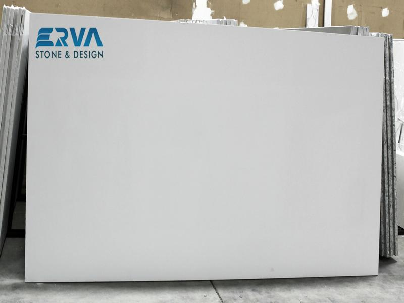 Arctic White Granites by Erva Stone & Design Fabricates at Fairfax, VA