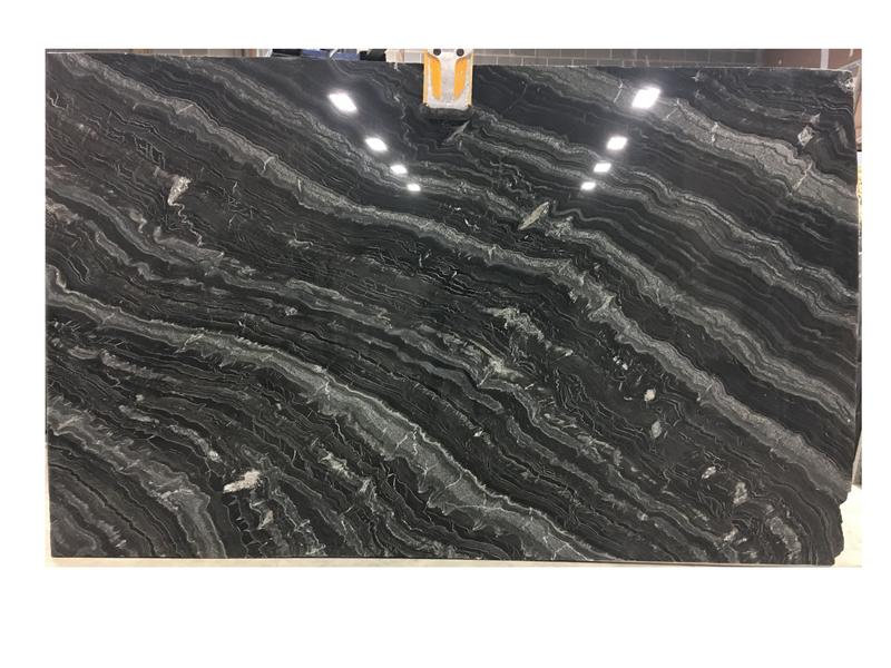Black River Granites by Erva Stone & Design Fabricates at Fairfax, VA