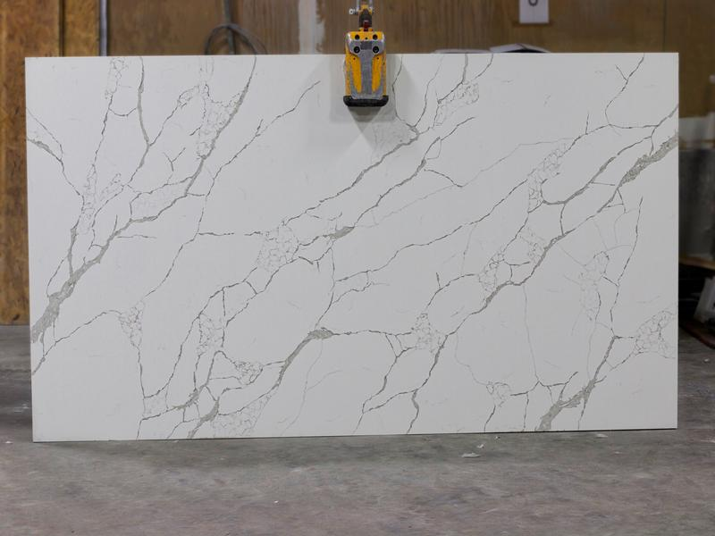 CALLACATTA LAZA Granites by Erva Stone & Design Fabricates at Fairfax, VA