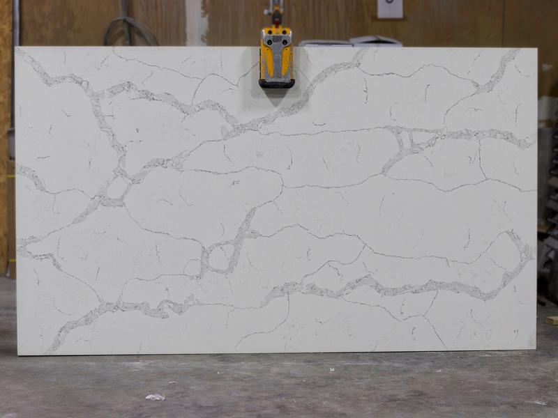 CALLACATTA VERONA Granites by Erva Stone & Design Fabricates at Fairfax, VA