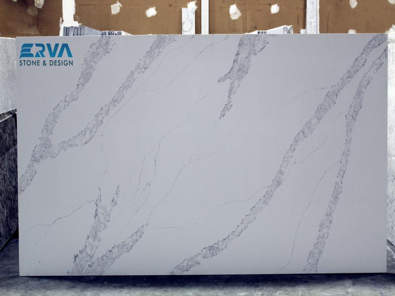 Calacatta Venice Granites by Erva Stone & Design Fabricates at Fairfax, VA