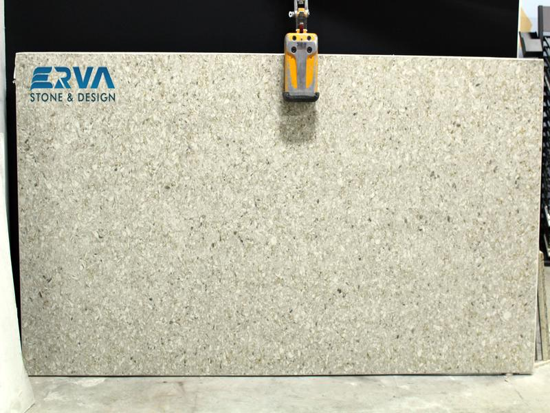 Chakra Beige Granites by Erva Stone & Design Fabricates at Fairfax, VA