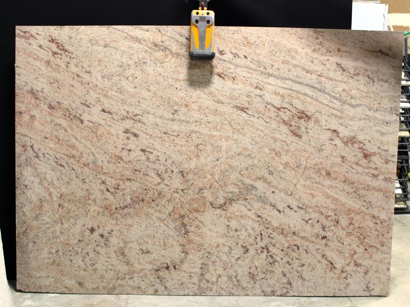 Ivory Brown Granites by Erva Stone & Design Fabricates at Fairfax, VA