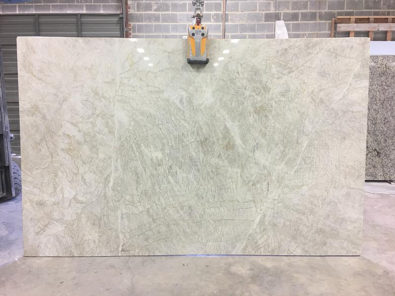 Monte Carlo Quartzite Granites by Erva Stone & Design Fabricates at Fairfax, VA