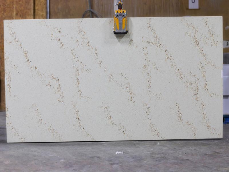 SERENITY Granites by Erva Stone & Design Fabricates at Fairfax, VA