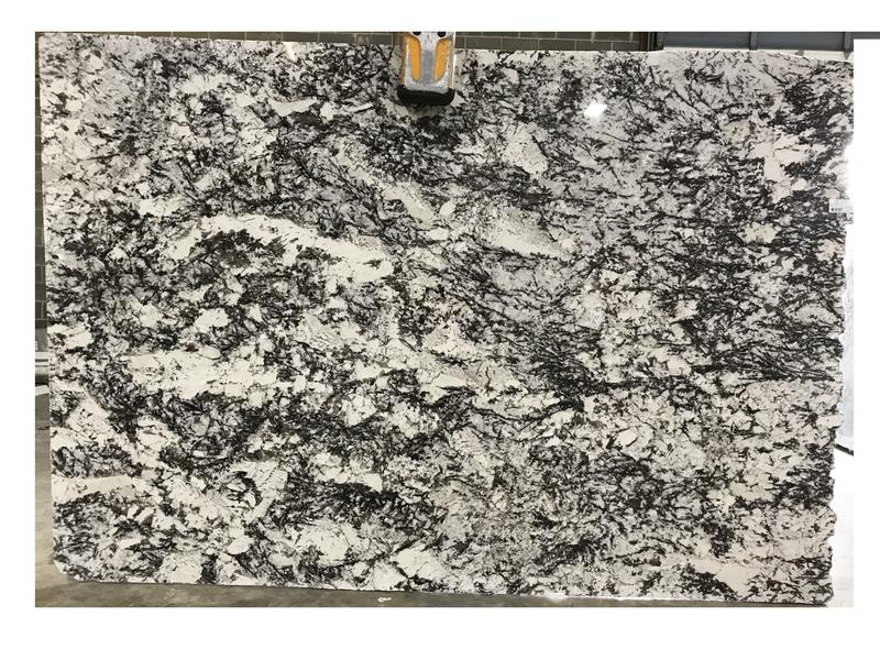 White Orion Granites by Erva Stone & Design Fabricates at Fairfax, VA